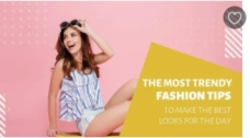 Fashion Channel eCommerce Store Promo